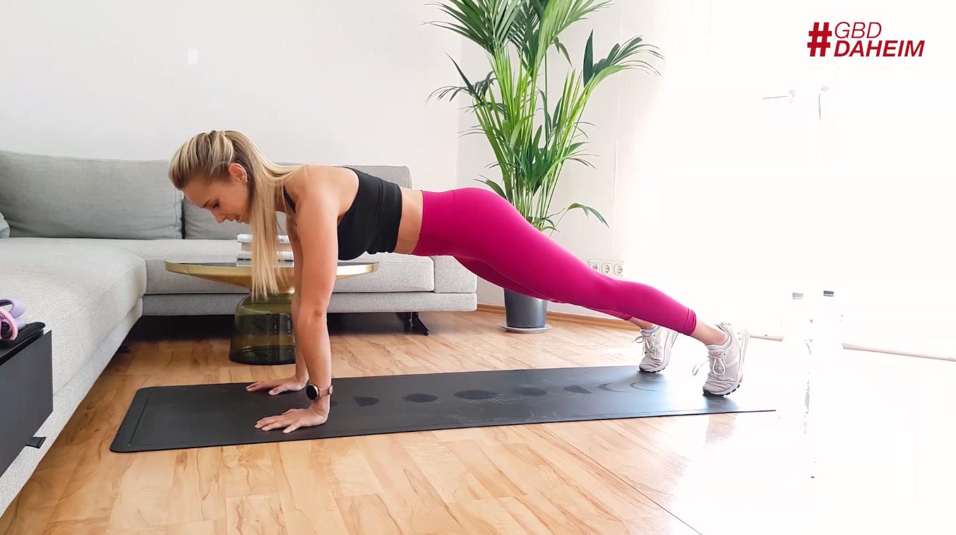 Core Workout für Zuhause mit Caro