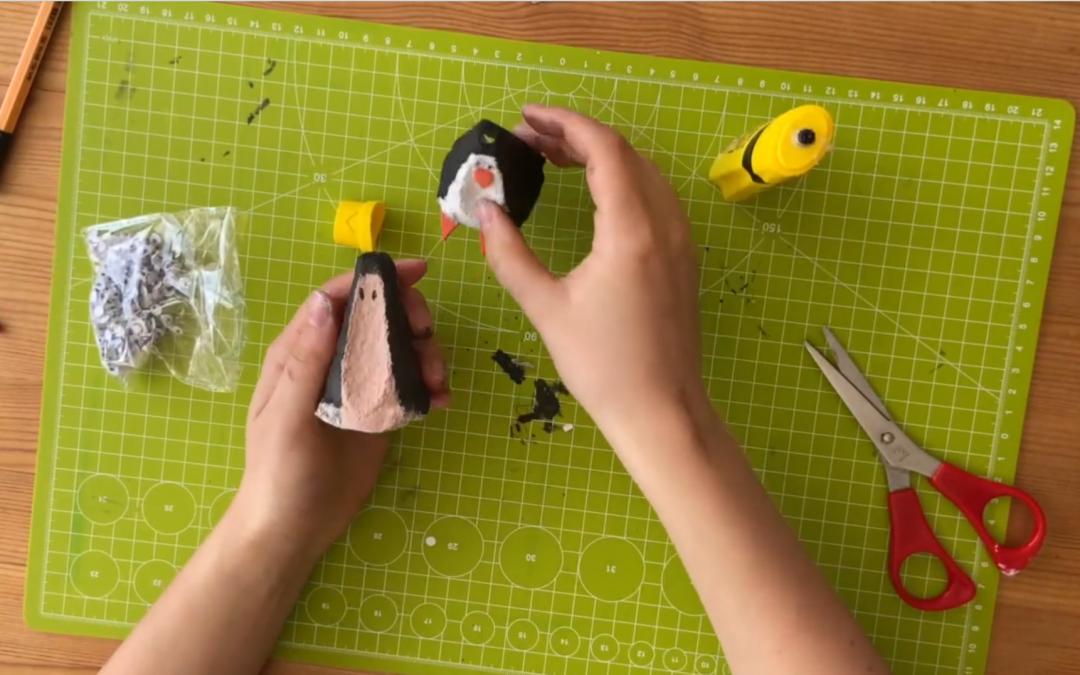 #DIYatHome! Pinguin