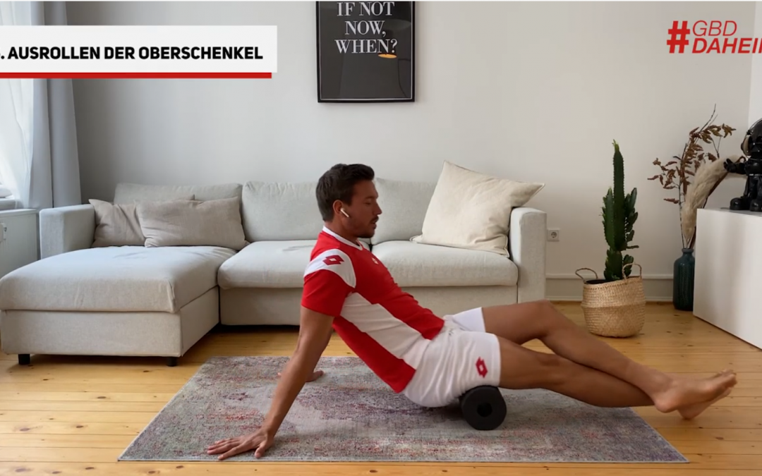 Tennis Recovery mit Andreas Mies & Blackroll