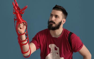 Maker Hand – eine 3D-Drucker-Handprothese, die zu den funktionellsten und günstigsten der Welt zählt