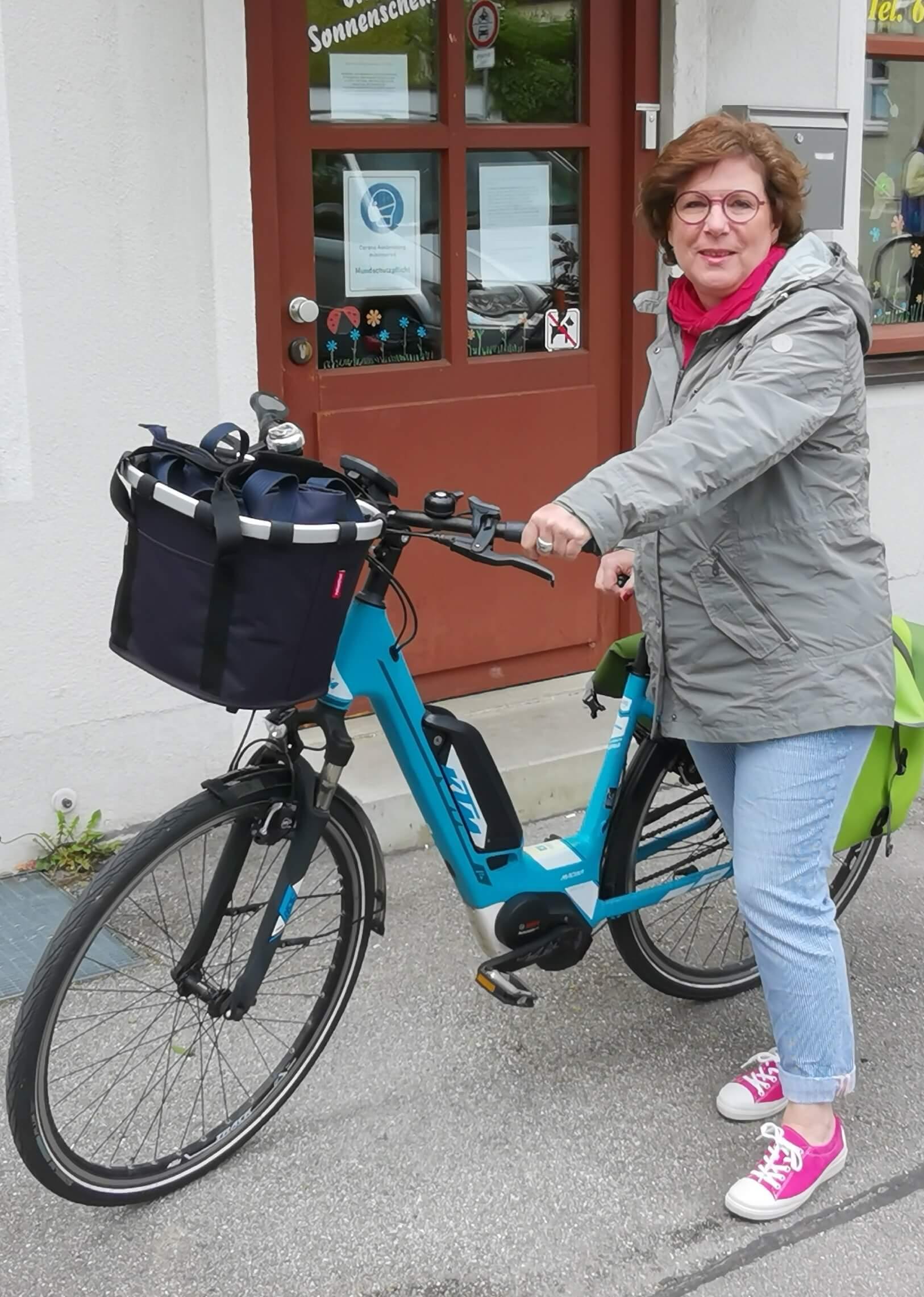 Renate Schnückel Leiterin Nachbarschafshilfe in der Au